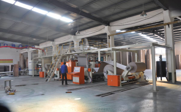 SICL -120-2-Corrugated Cardboard Production Line