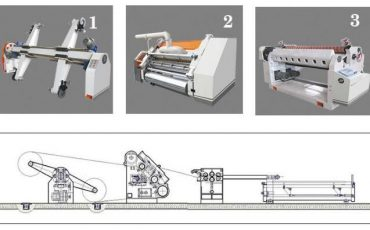 SICL80 Corrugated Cardboard Production Line