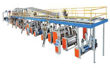 SICL 250 35 Corrugated Cardboard Production Line