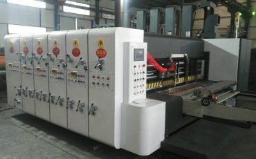 SIYKM-120 Lead edge feeder flexo printer slotter rotary die cutter machine
