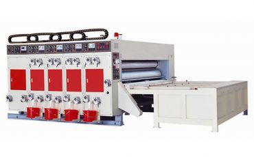 SIYKM-80c chain feeder flexo printer slotter rotary die cutter machine